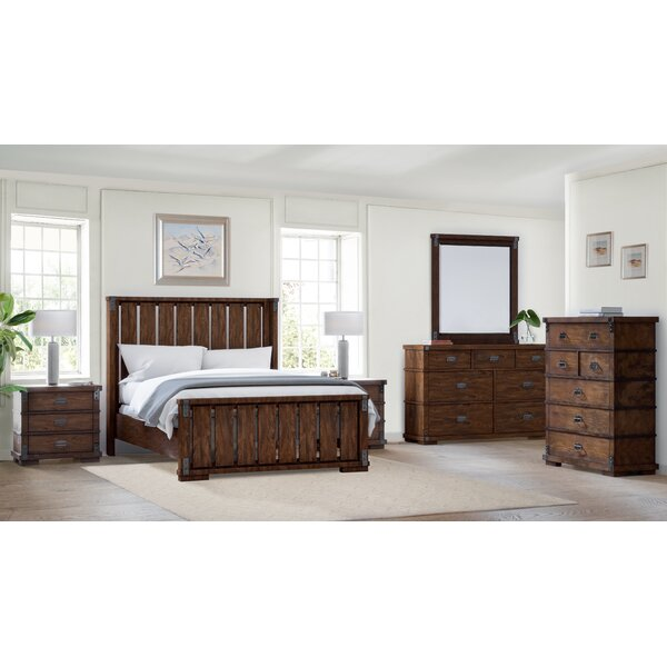Durrant Platform 6 Piece Bedroom Set by Millwood Pines