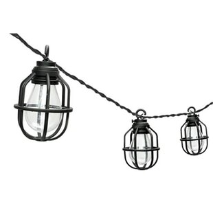 Foxworth 10-Light Lantern String Lights By Andover Mills Outdoor Lighting