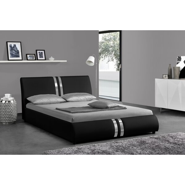 Province Upholstered Sleigh Bed by Orren Ellis