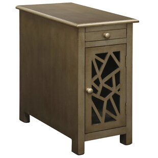 Where buy  Fagaras End Table with Storage By Gracie Oaks