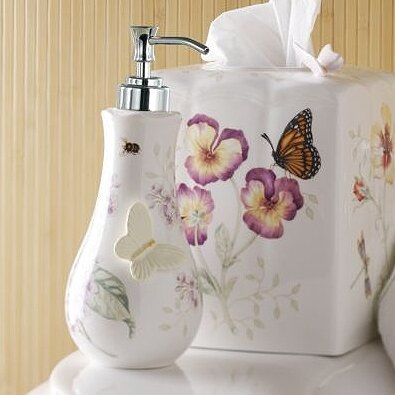 Butterfly Meadow Soap Dispenser by Lenox