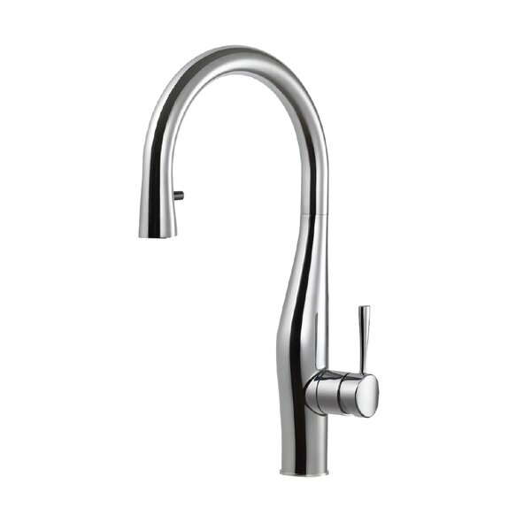 Vision Hidden Pull-down Single Handle Kitchen Faucet by Houzer