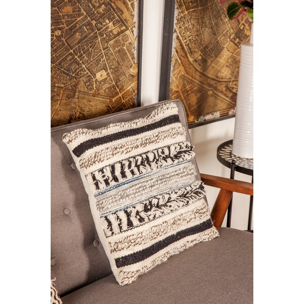 Gordonsville Rustic Pillow Cover by Bungalow Rose
