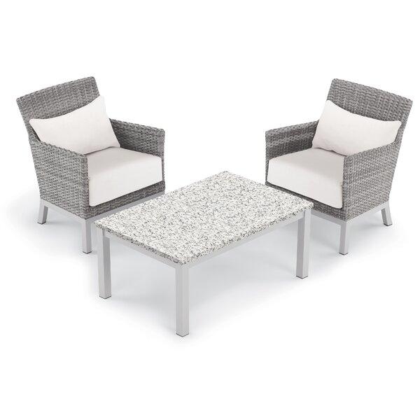 Saleem 3 Piece Sectional Set with Cushions by Brayden Studio