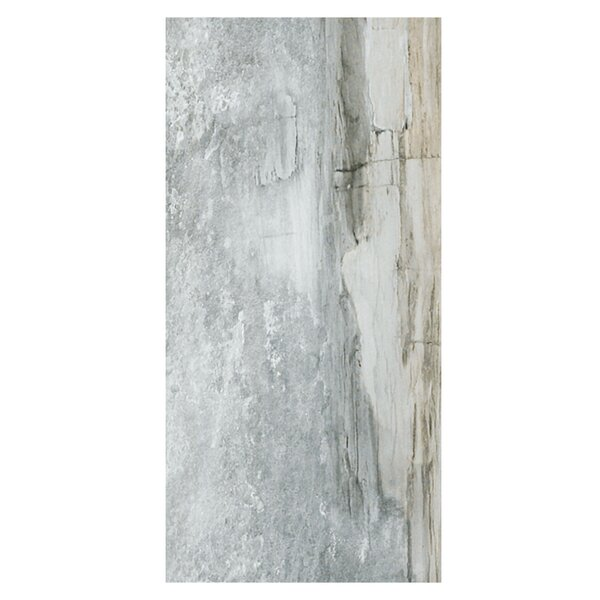 Waterfall Yosemite 12 x 24 Porcelain Wood Look Tile in Gray by Casa Classica