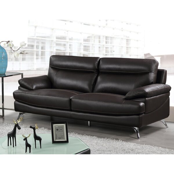 1 Leather Sofa By Best Quality Furniture Bargain On Bar Carts