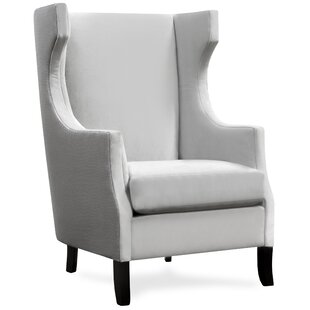 Dormody Glade Runner Wingback Chair  by Canora Grey