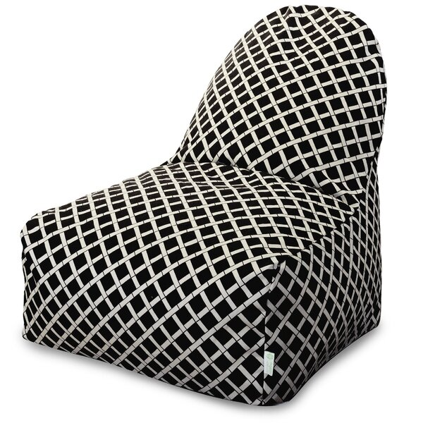 Ayer Geometric Pattern Bean Bag Lounger by Zipcode Design