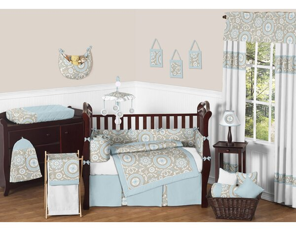 Hayden 9 Piece Crib Bedding Set by Sweet Jojo Designs