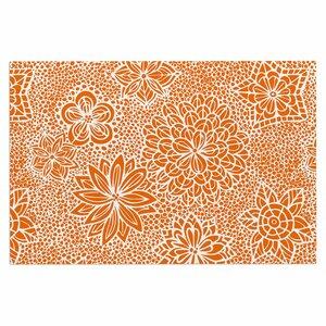 Julia Grifol Garden Flowers Floral Doormat