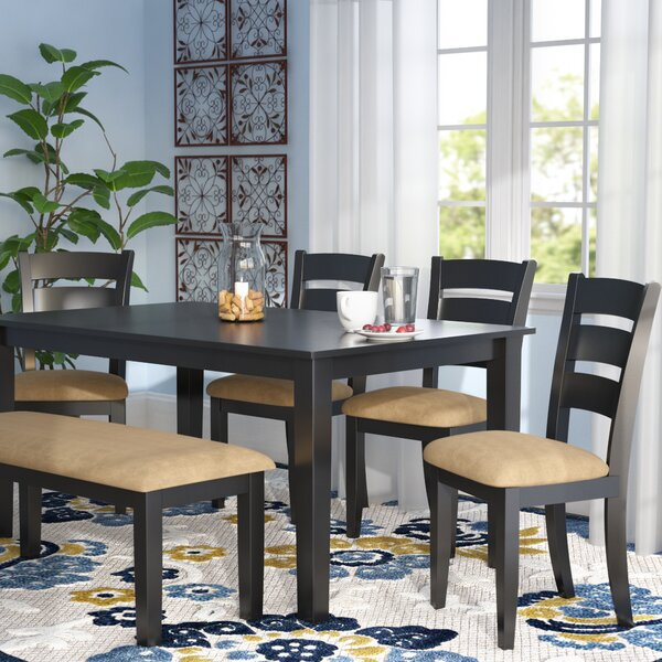 Oneill Modern 6 Piece Upholstered Dining Set by Andover Mills