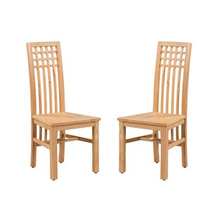 Purchase Koome Solid Wood Dining Chair (Set of 2) Look & reviews