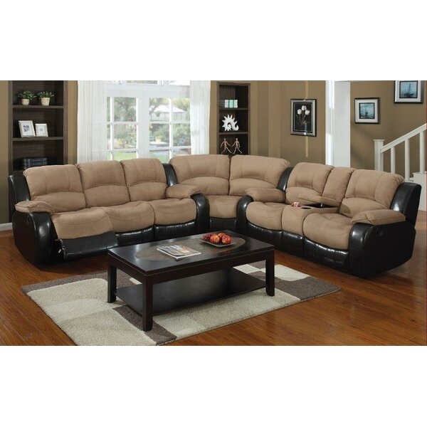 Asher Reclining Sectional by E-Motion Furniture