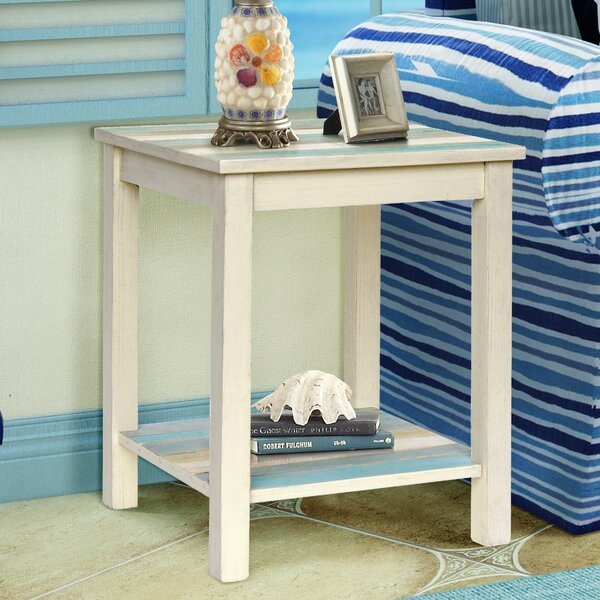 Seaside End Table by Gallerie Decor