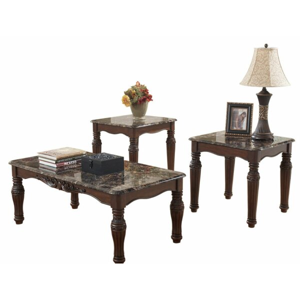 Chevelle 3 Piece Coffee Table Set By Canora Grey
