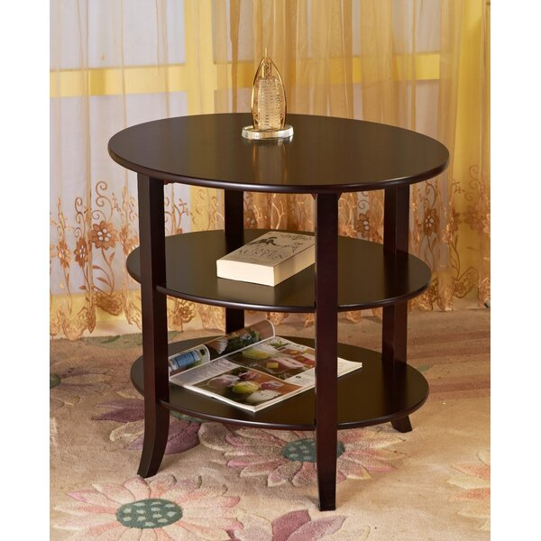 Calarco End Table With Storage By Winston Porter