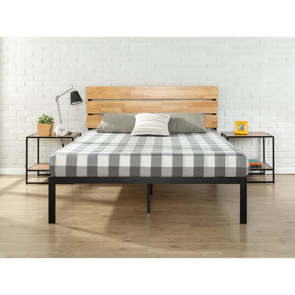 Alianna MetalWood Platform Bed by Hashtag Home