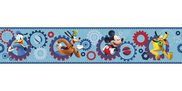Walt Disney Kids II Clubhouse Capers 9 Border Wallpaper by York Wallcoverings