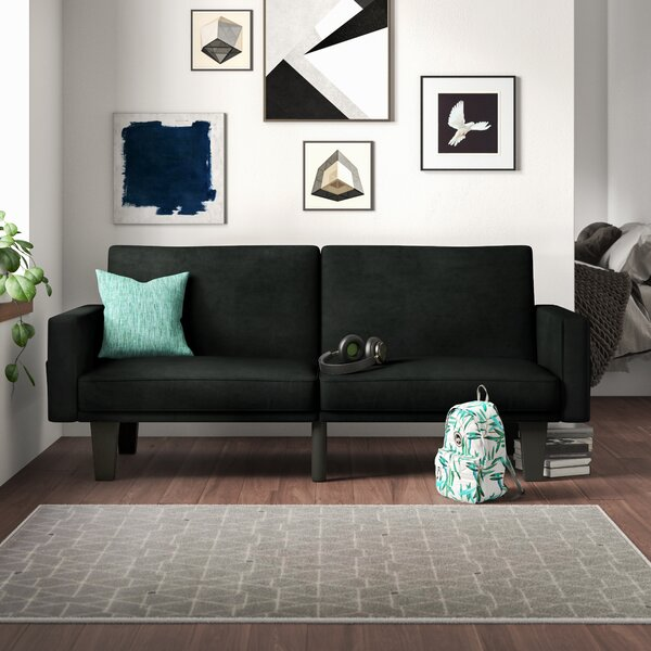 Clements Convertible Sofa by Mercury Row