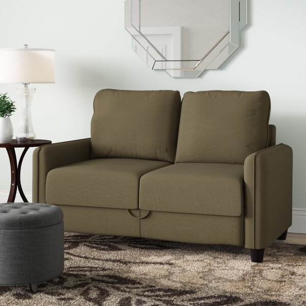 Olivia Standard Loveseat by Andover Mills