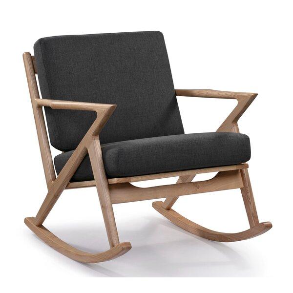 Nantucket Rocking Chair By Gracie Oaks