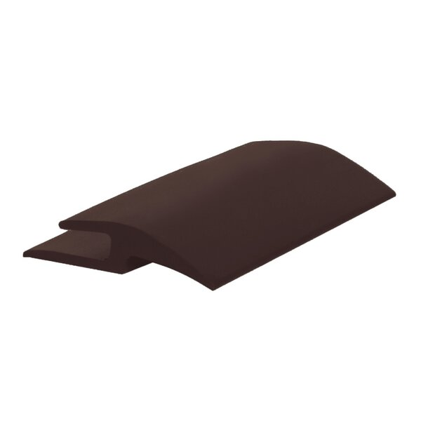 0.25 x 144 x 1.41 T-Molding in Brown by ROPPE