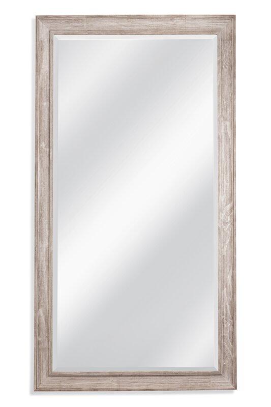 White Wash Leaner Full Length Mirror Reviews AllModern