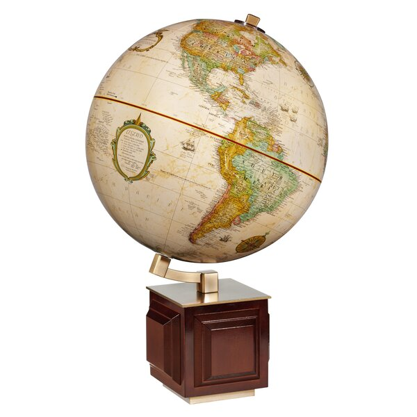 Frank Lloyd Wright Four Square Globe by Replogle Globes