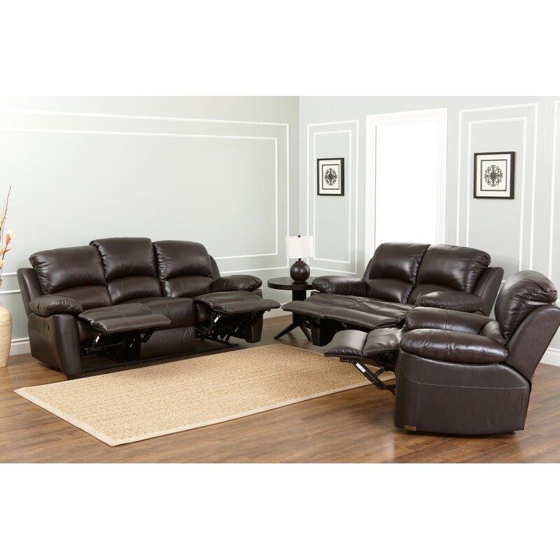 Blackmoor Leather Reclining Sofa