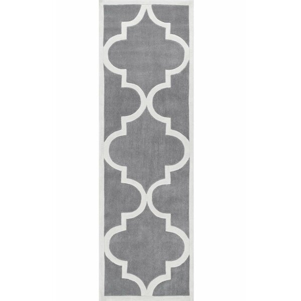 Sepviva Hand-Tufted Slate Area Rug by Latitude Run