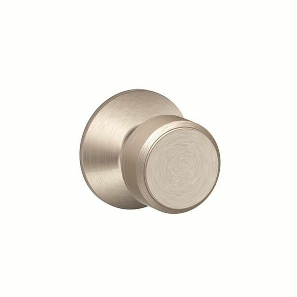 Interior Non-Turning Bowery Knob and Interior Inactive Deadbolt Thumbturn by Schlage