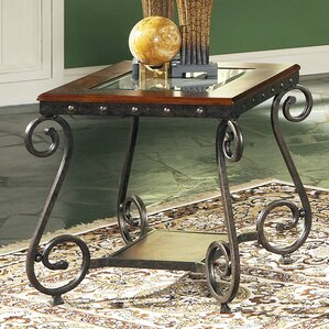 Carlton End Table by Astoria Grand