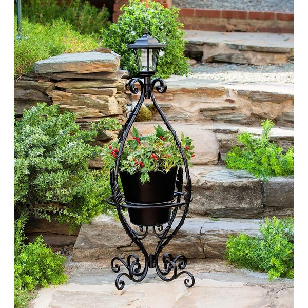 Solar Metal Plant Stand by Wind & Weather| @ $99.95