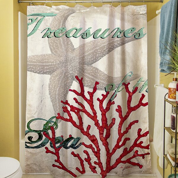 Sunderland Shower Curtain by Rosecliff Heights