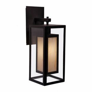 Price comparison Austin 1-Light Outdoor Wall Lantern By Steel Partners