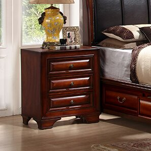 3 Drawer Nightstand By InRoom Designs