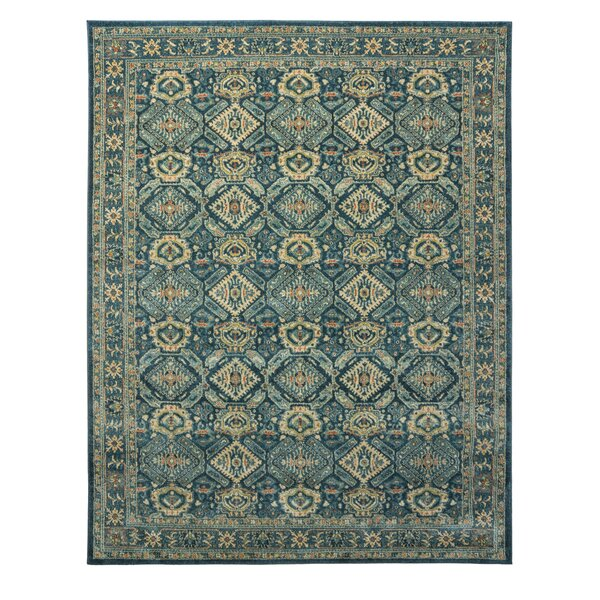 Anaheid Navy Area Rug by World Menagerie