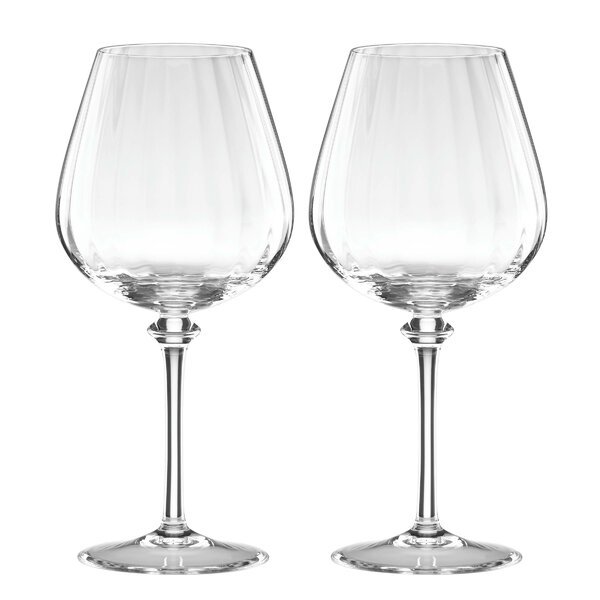 Austin Red Wine Glass (Set of 2) by Reed & Barton
