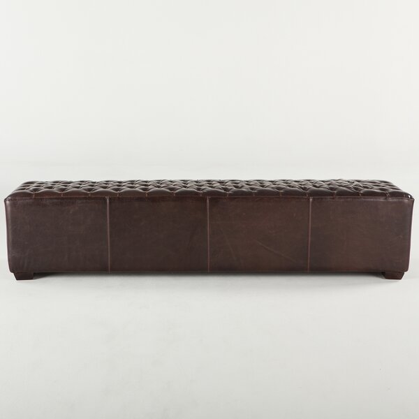 Myres Faux Leather Bench by Charlton Home