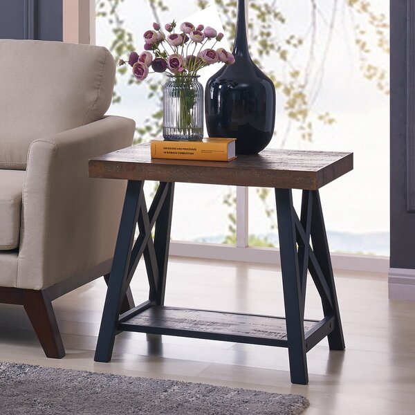 Evelia End Table by Darby Home Co