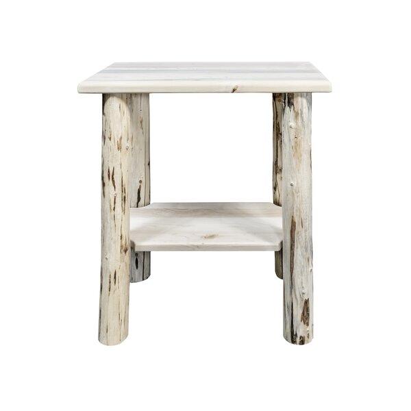 Tustin Chairside Table by Loon Peak