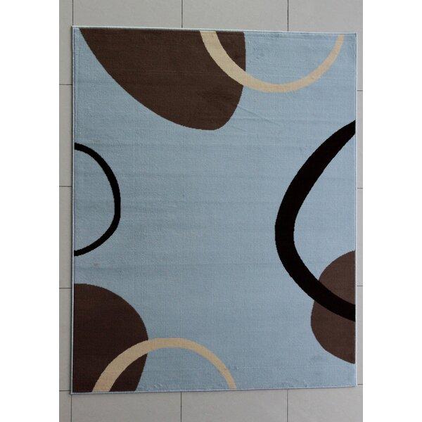 Tyrrel Blue Area Rug by Orren Ellis