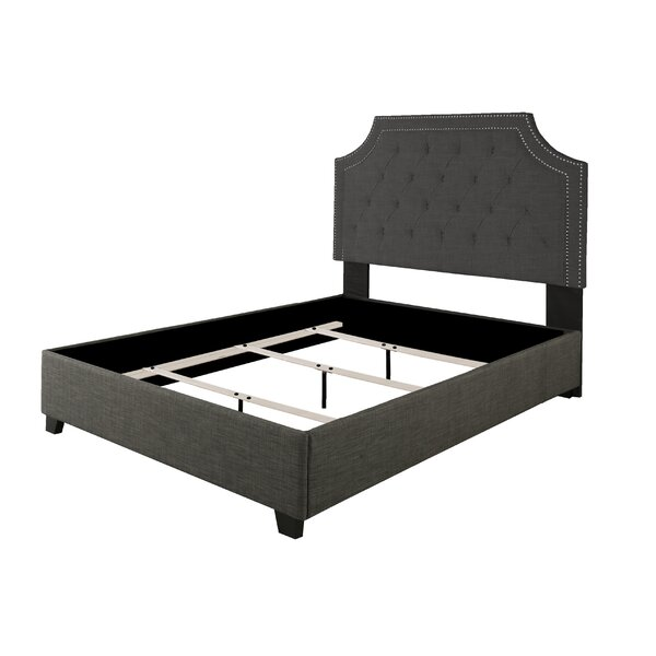 Strait Upholstered Bed by Alcott Hill