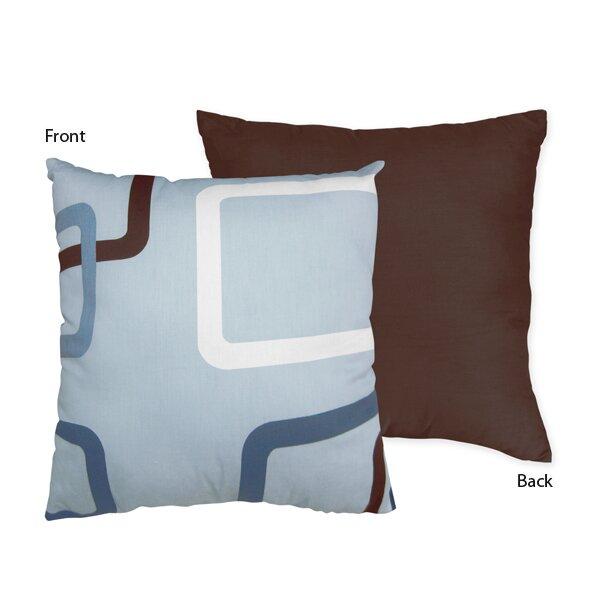 Geo Cotton Throw Pillow by Sweet Jojo Designs