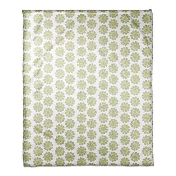 Malik Floral Pattern Blanket by Latitude Run