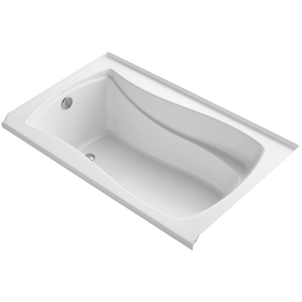 Mariposa Alcove 60 x 36 Soaking Bathtub by Kohler
