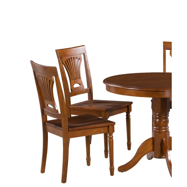 Best #1 Inwood Solid Wood Dining Chair (Set Of 4) By Darby Home Co Design