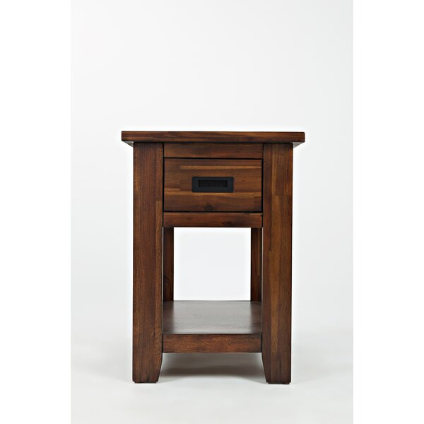 Rodney Contemporary Chairside End Table by Millwood Pines