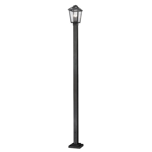 Croll Outdoor 3-Light 111 Post Light by Breakwater Bay