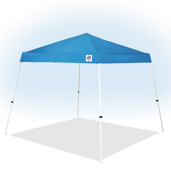 Vista 10 Ft. W x 10 Ft. D Steel Pop-Up Canopy by E-Z UP